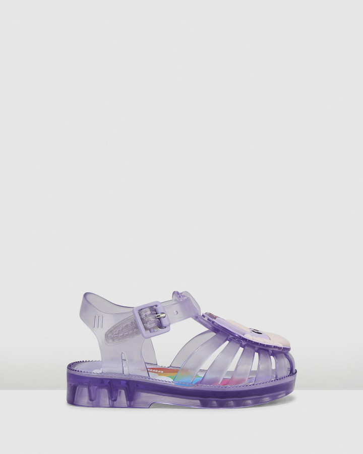 Shoes and Sox Possession Unicorn Lilac Translucent