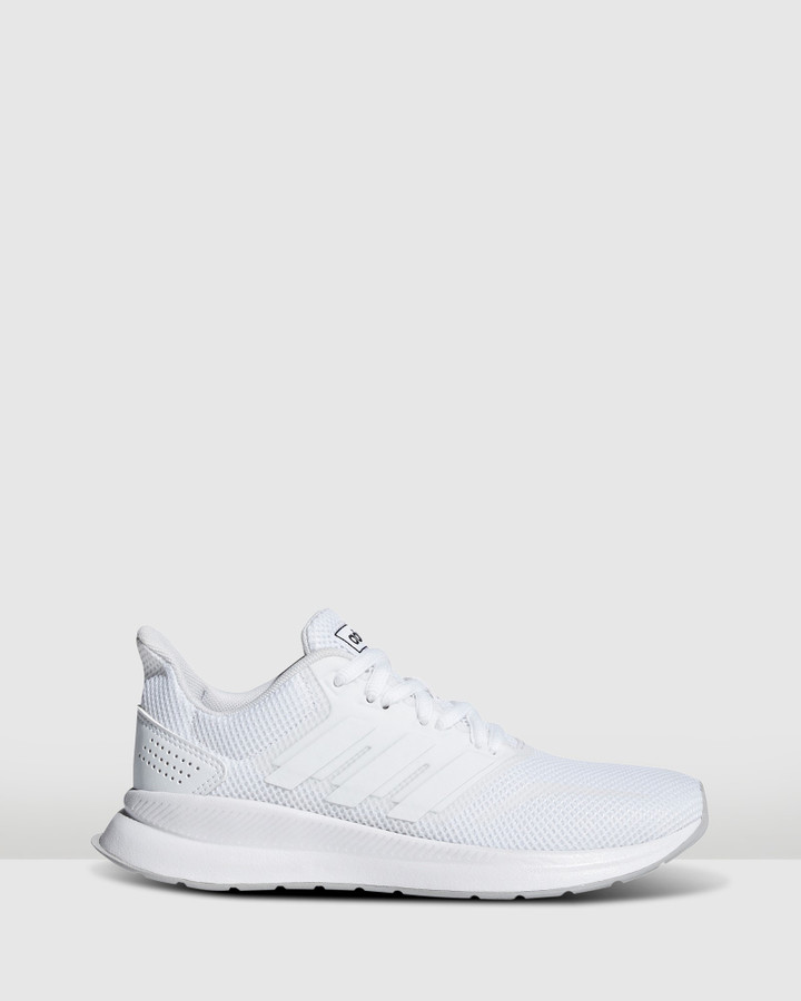 Shoes and Sox Runfalcon K Gs B White