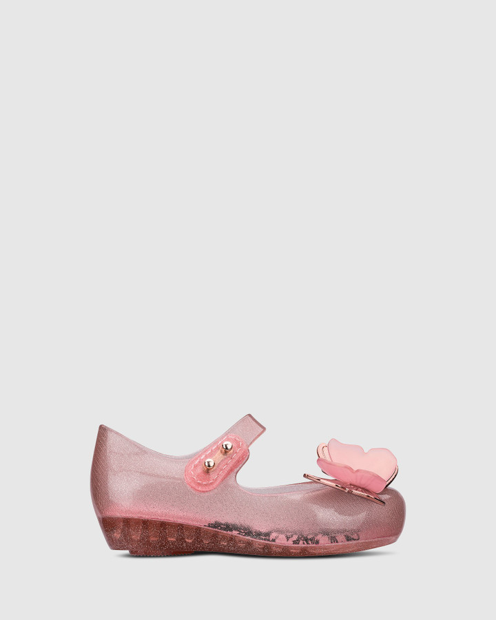 Shoes and Sox Ultragirl Fly Iii Bb Pink Glitter