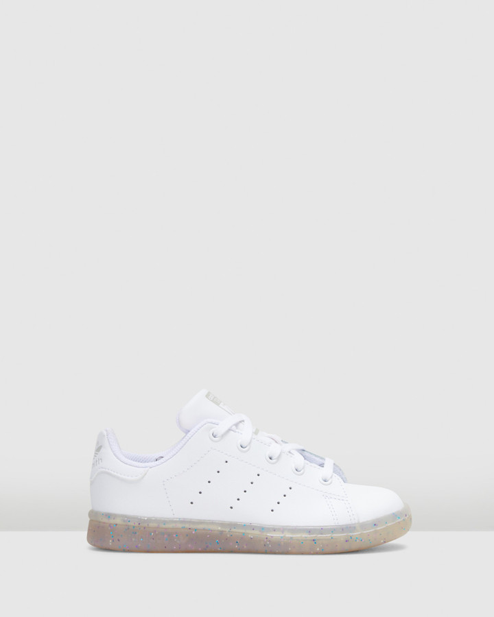 Shoes and Sox Stan Smith Ps White/White
