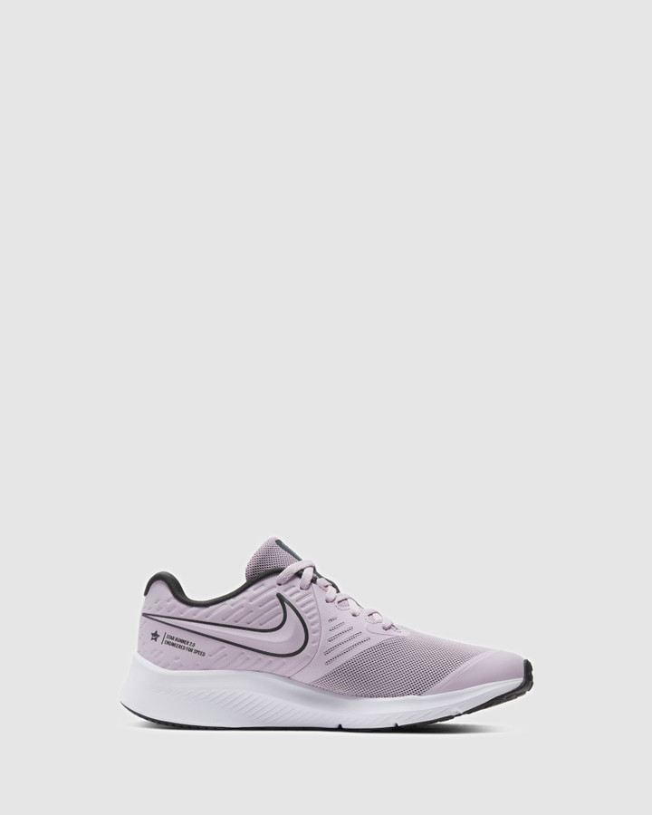 Shoes and Sox Star Runner 2 Gs G Lilac/Black