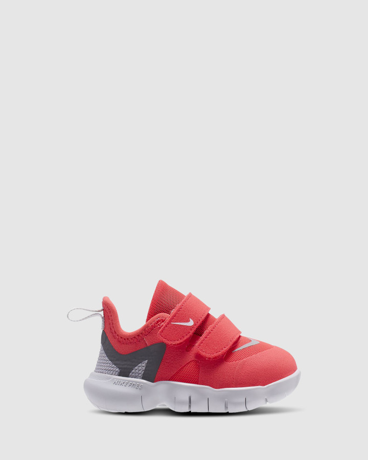 Shoes and Sox Free Rn 5.0 Inf G Laser Crimson/Grey