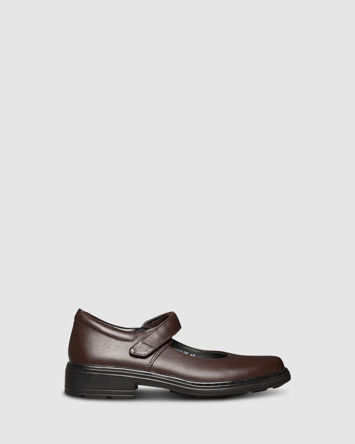 Shoes and Sox Indulge Snr Brown