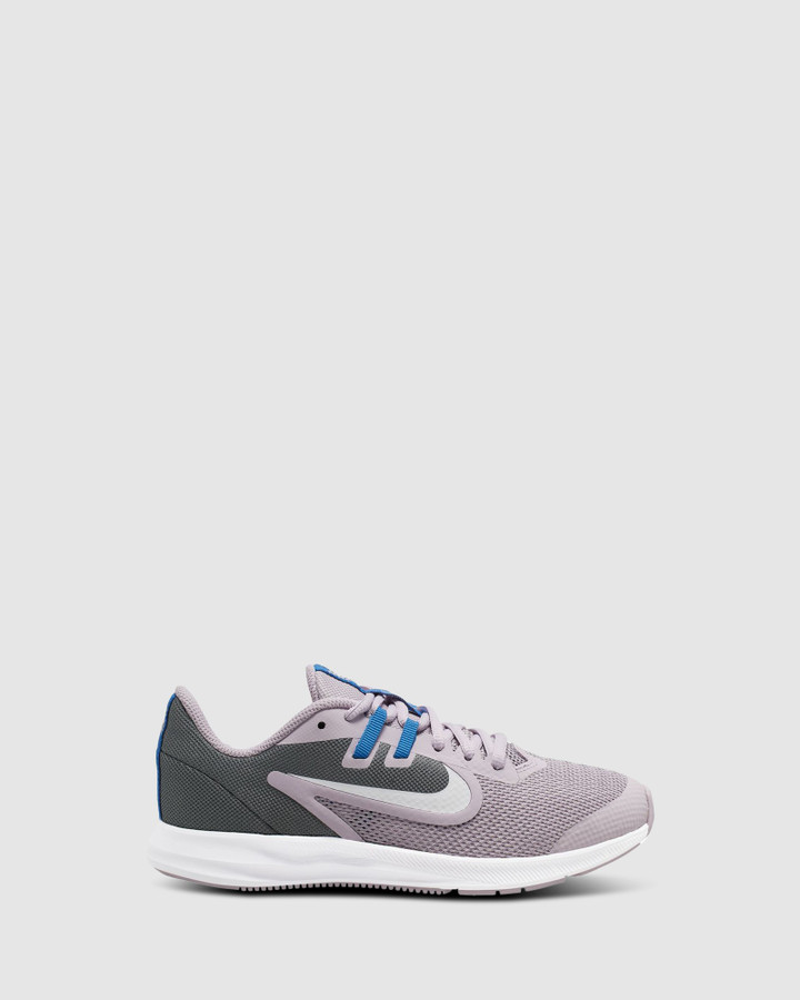 Shoes and Sox Downshifter 9 Gs G Lilac/Grey/Blue