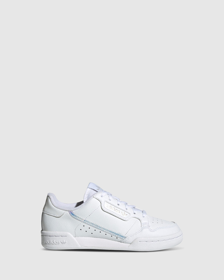 Shoes and Sox Continental 80 Gs G White/Silver Hologram