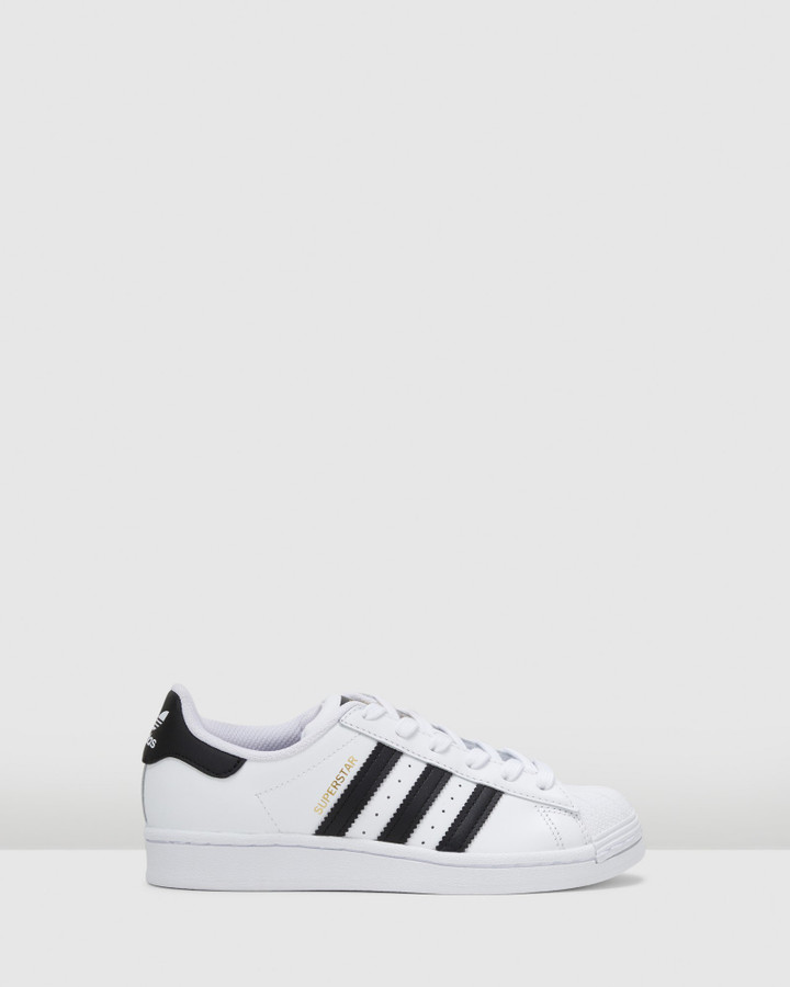 Shoes and Sox Superstar Foundation Ii Gs B White/Black