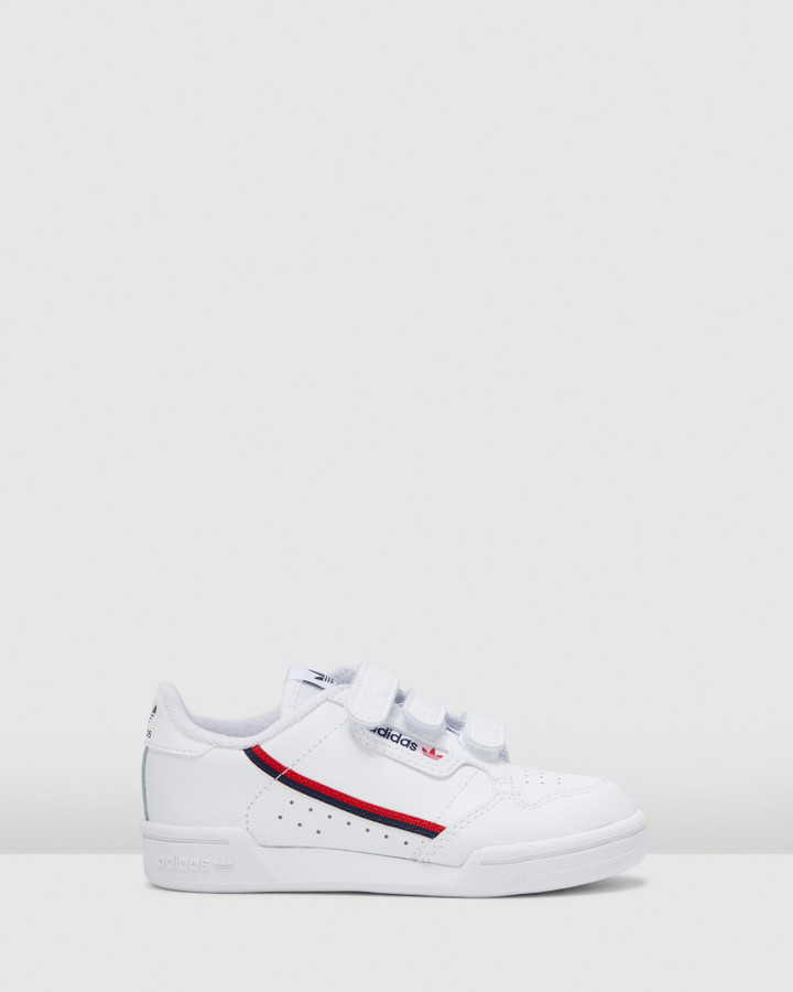 Shoes and Sox Continental 80 Sf Ps B White/Red/Navy