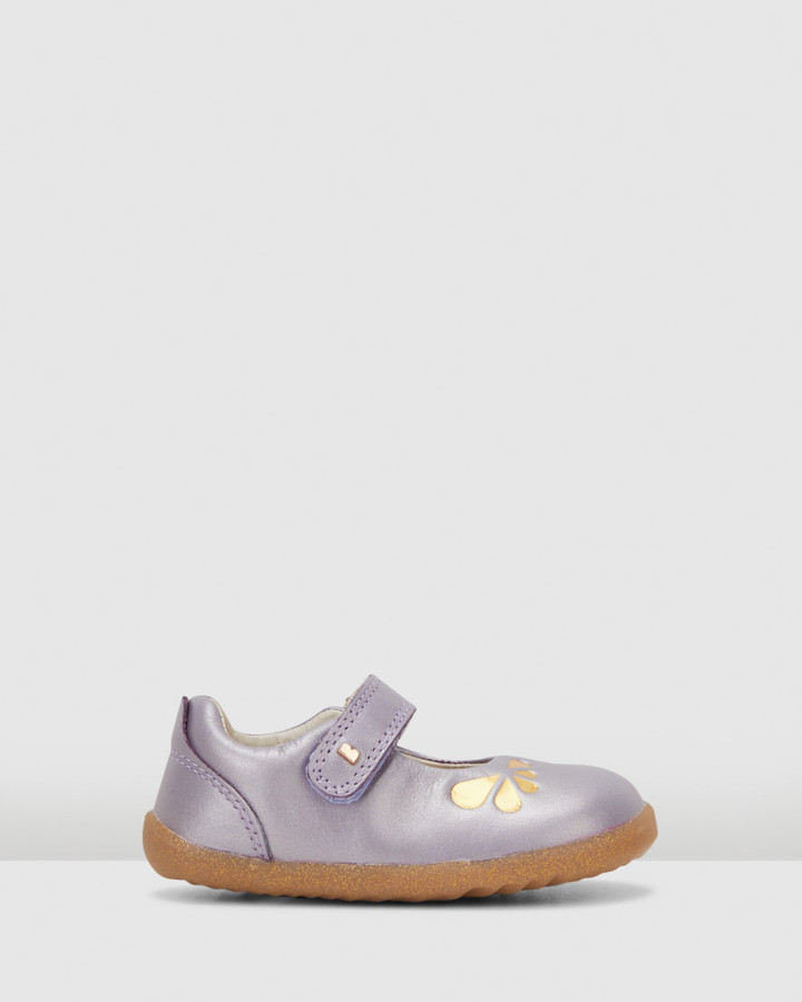 Shoes and Sox Step Up Delight Petal Grape Gold