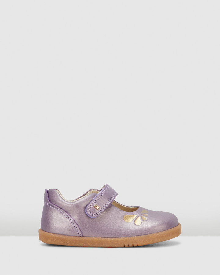 Shoes and Sox Iwalk Delight Petal Grape Gold