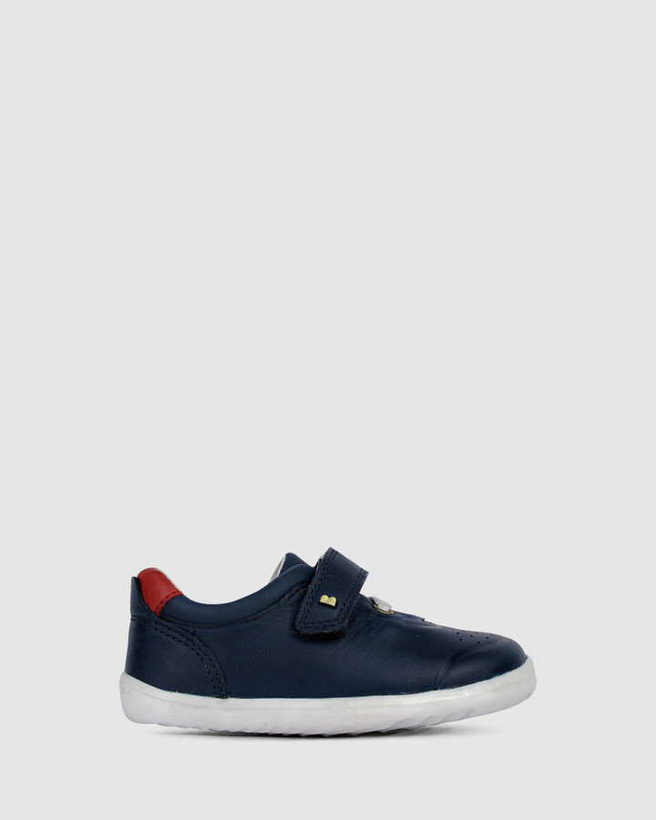 Shoes and Sox Step Up Ryder B Navy/Red