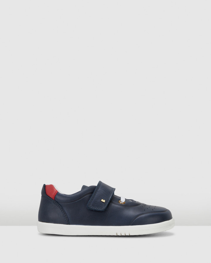 Shoes and Sox Kid+ Ryder B Navy/Red