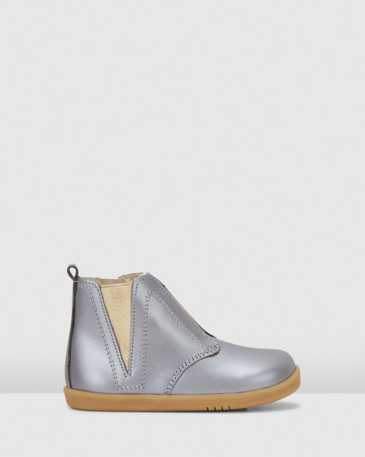 Shoes and Sox Iwalk Signet Boot Charcoal Dust