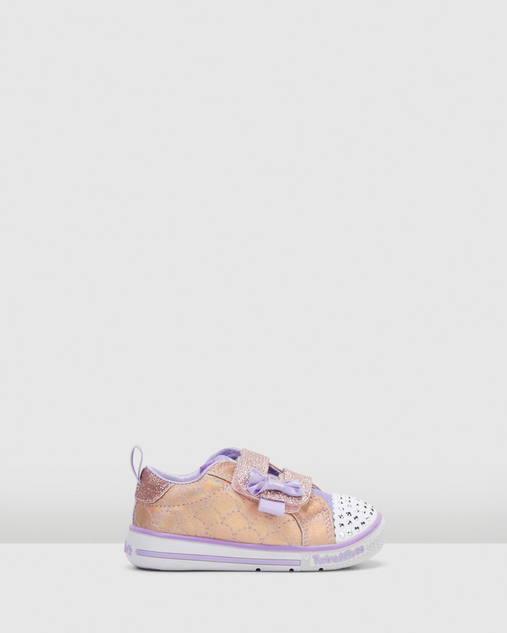 Shoes and Sox Tt Twinkle Play Inf Rose Gold