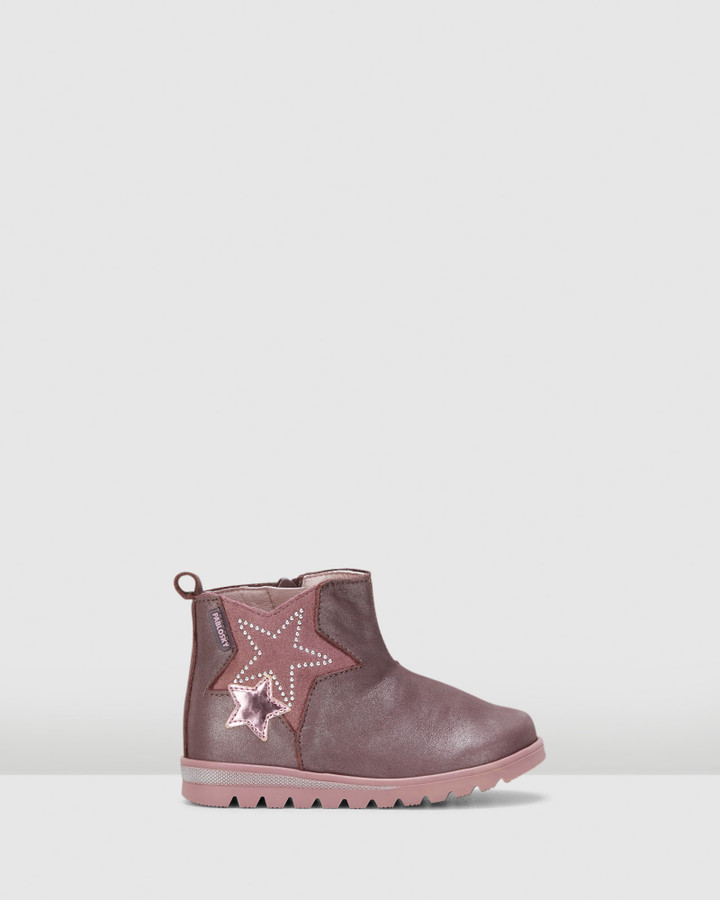 Shoes and Sox Double Star Boot G 065790 Inf Purple/Pink