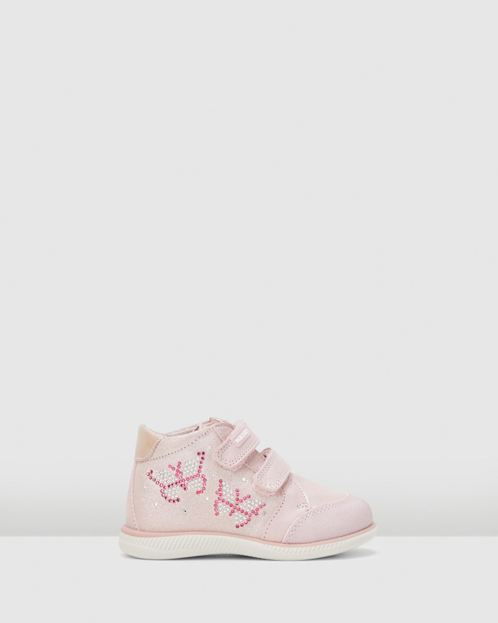 Shoes and Sox Sf Butterfly Boot G 066470 Inf Pink/Silver
