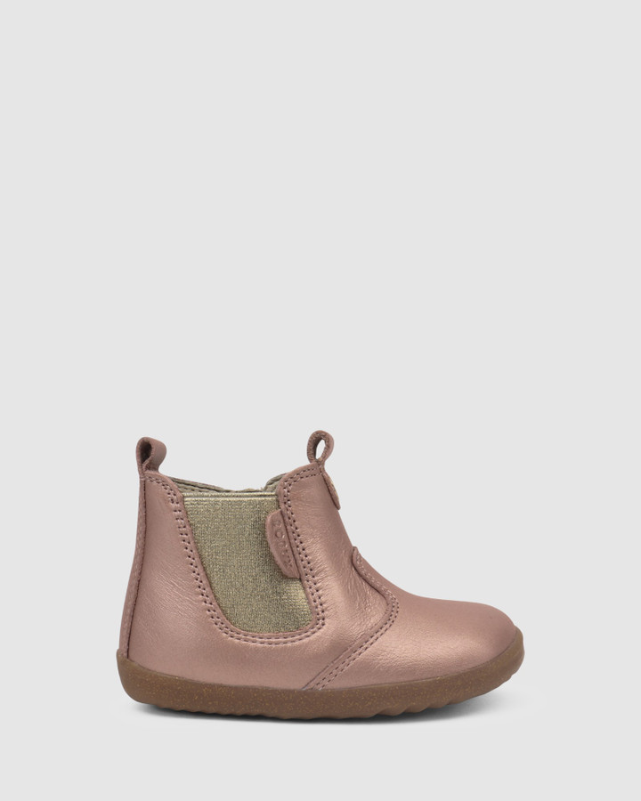 Shoes and Sox Step Up Jodhpur Boot Ii G Rose Gold