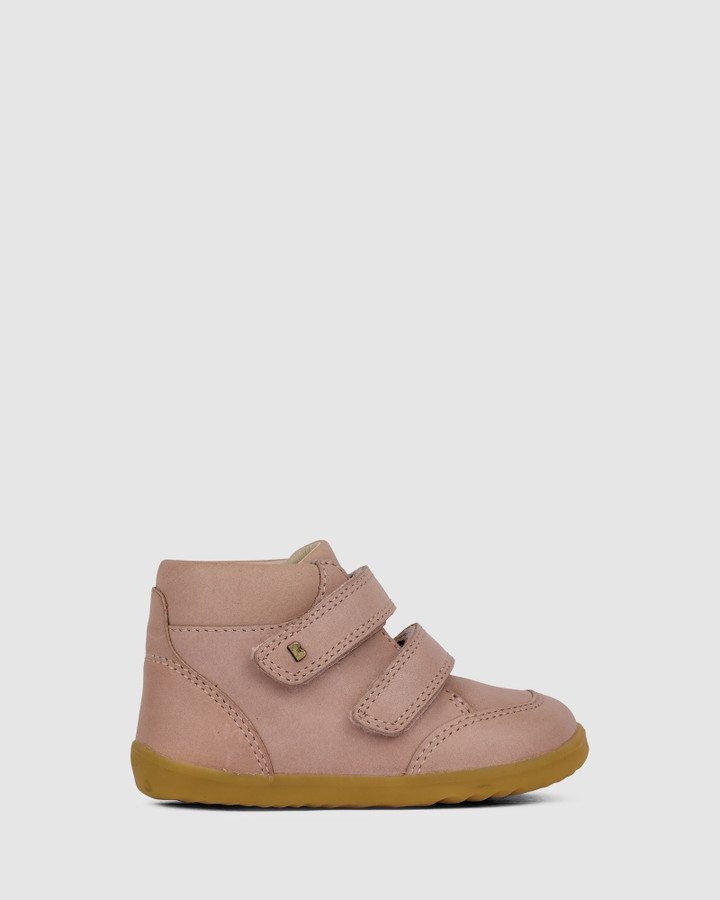 Shoes and Sox Step Up Timber Boot Ii G Dusk Pink