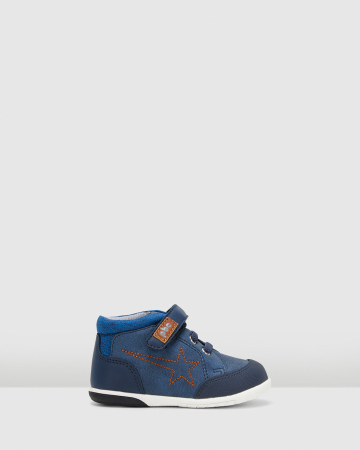 Shoes and Sox Tomer Shooting Star Boot Inf B Navy