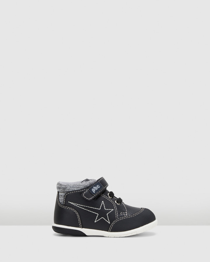 Shoes and Sox Tomer Shooting Star Boot Inf B Black