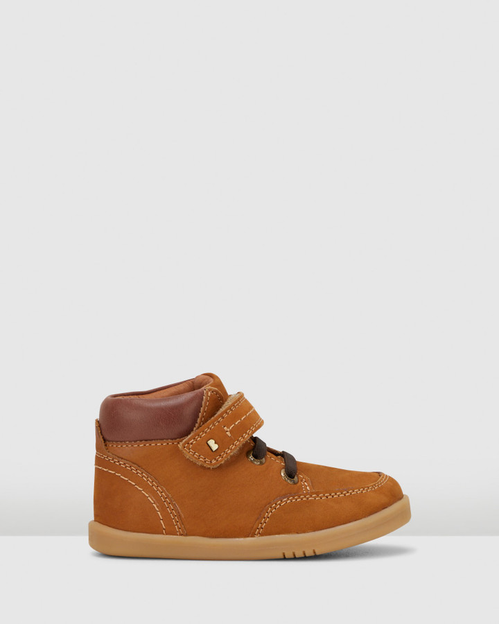 Shoes and Sox Iwalk Timber Boot Ii Mustard