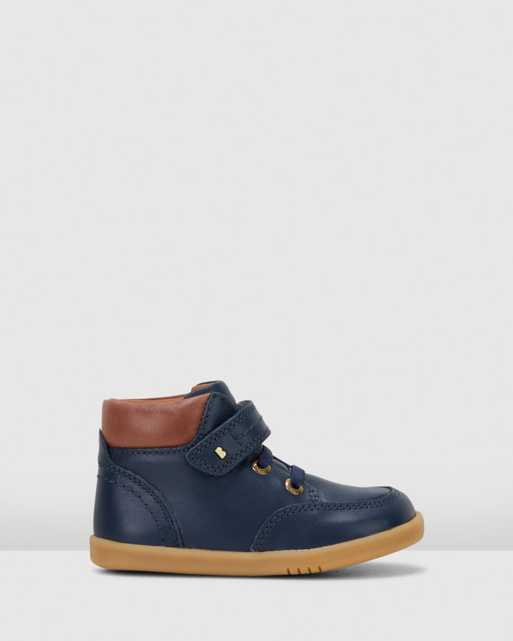 Shoes and Sox Iwalk Timber Boot Ii Navy