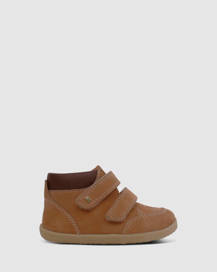 Shoes and Sox Step Up Timber Boot Iii B Mustard