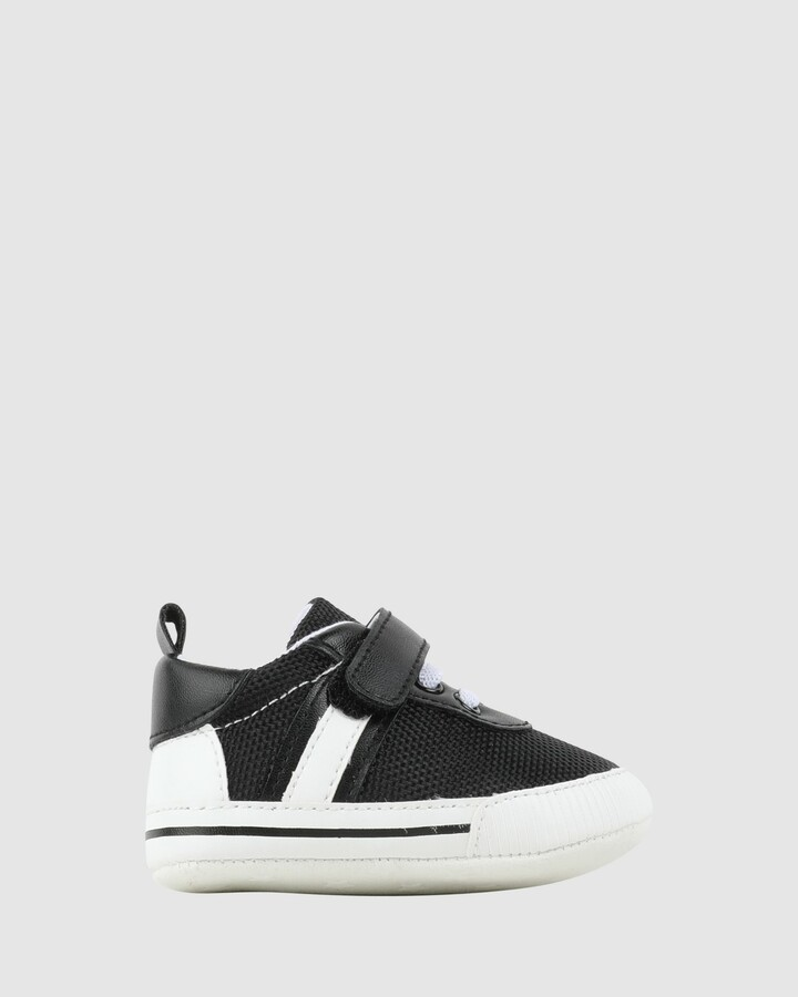 Shoes and Sox Kenny Sneaker Black/White
