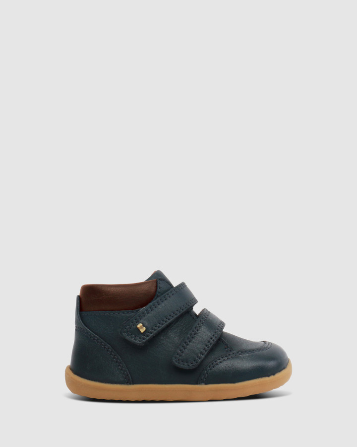 Shoes and Sox Step Up Timber Boot Iii B Navy