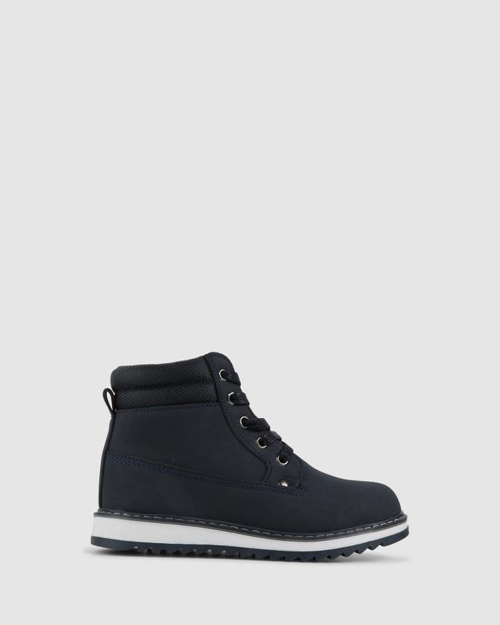 Shoes and Sox Ezekiel Boot Navy
