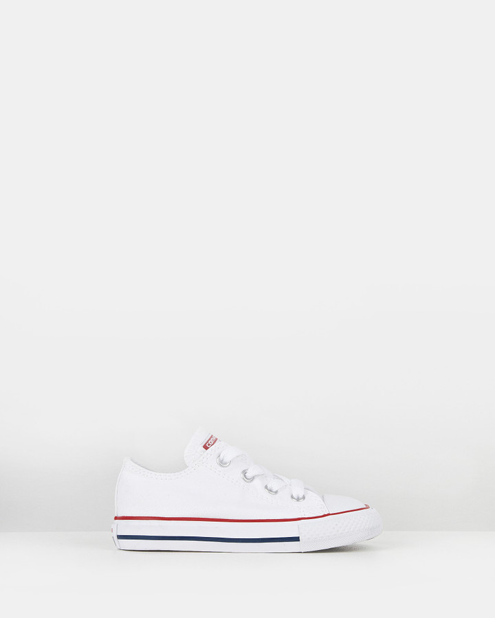 Shoes and Sox Chuck Taylor As Core Ox Inf White