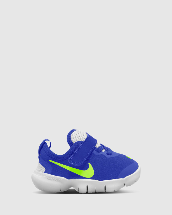 Shoes and Sox Free Rn 5.0 Ii Inf B Hyper Royal/Ghost Green
