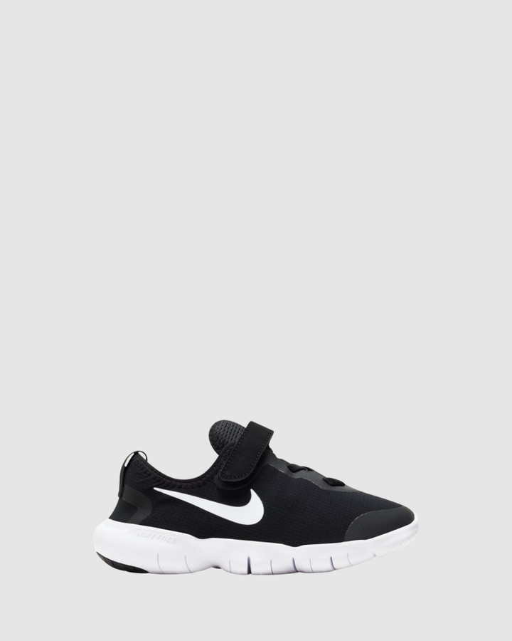 Shoes and Sox Free Rn 5.0 Ii Ps B Black/White/Anthracite/Volt
