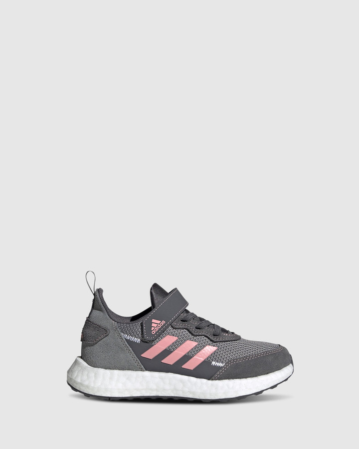 Shoes and Sox Rapidalux S&L Ps G Grey/Pink/White