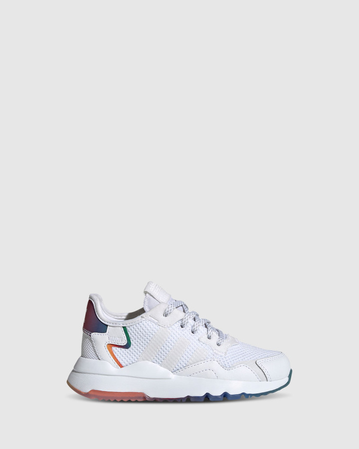Shoes and Sox Nite Jogger Ps B White/Multi