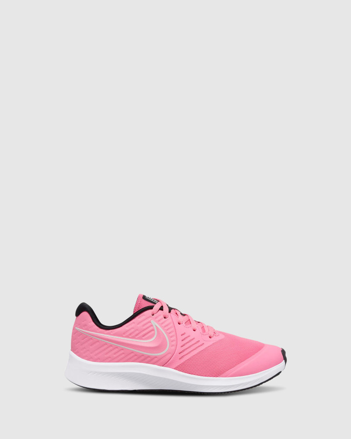 Shoes and Sox Star Runner 2 Gs G Pink Glow/Photon Dust
