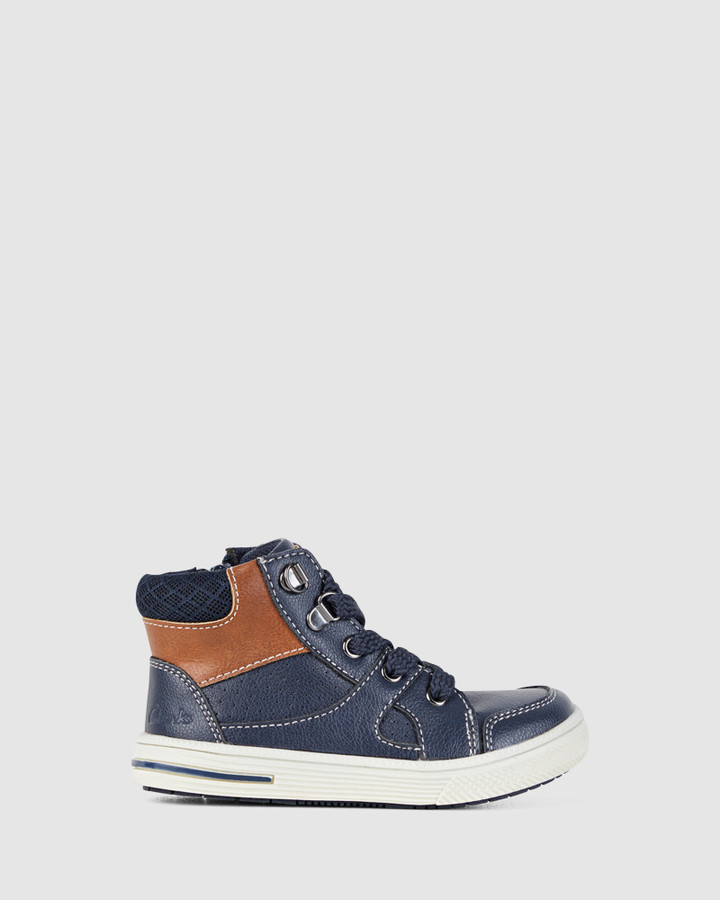 Shoes and Sox Brannon Navy
