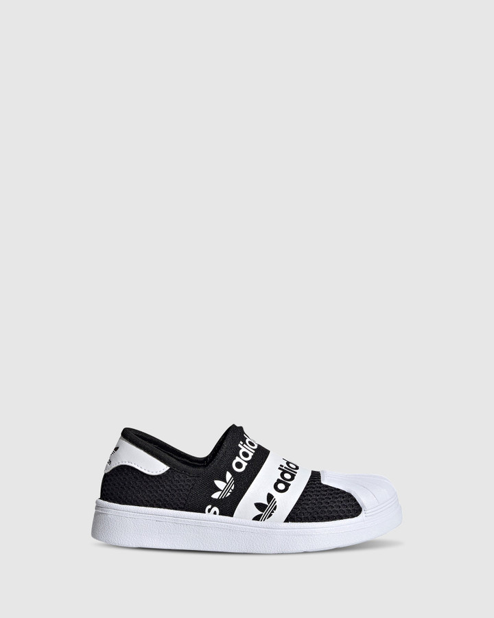 Shoes and Sox Superstar Smr Ps B Black/White