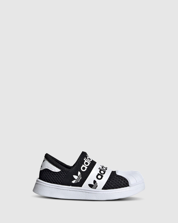 Shoes and Sox Superstar Smr 360 Inf B Black/White