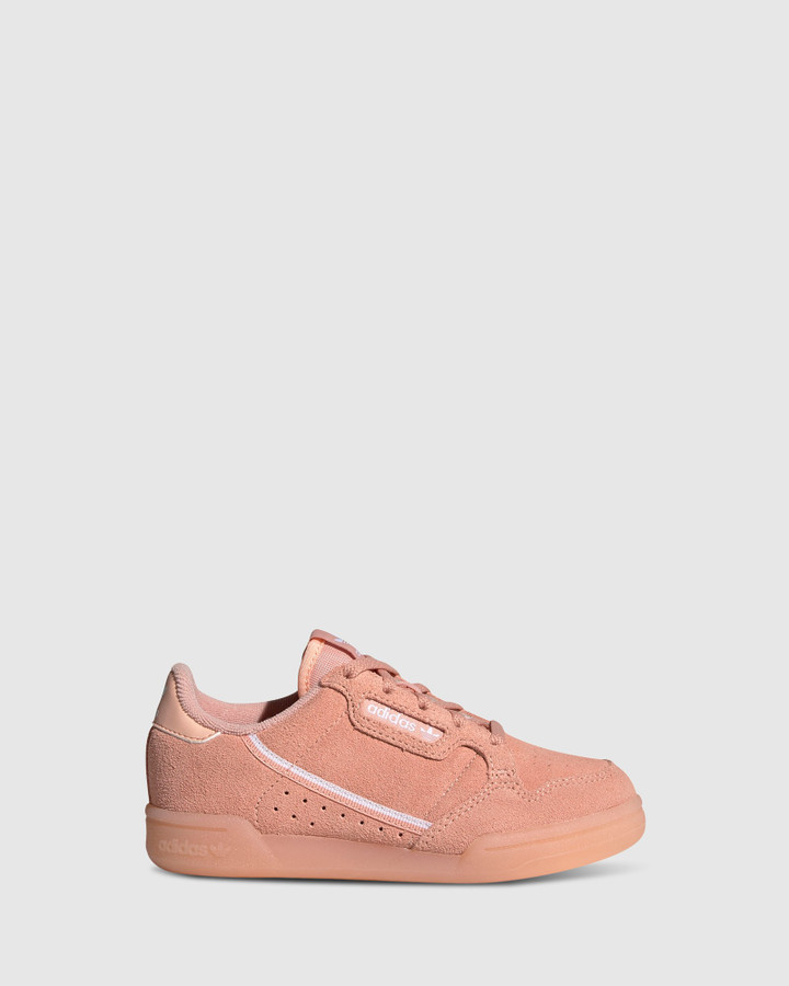 Shoes and Sox Continental 80 Ps G Glow Pink/White
