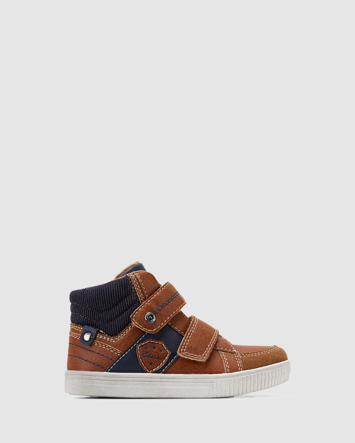 Shoes and Sox Rockwell Tan/Navy