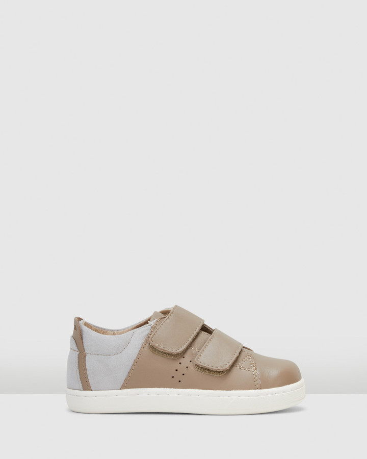 Shoes and Sox Toko Shoe Taupe/Grey Suede