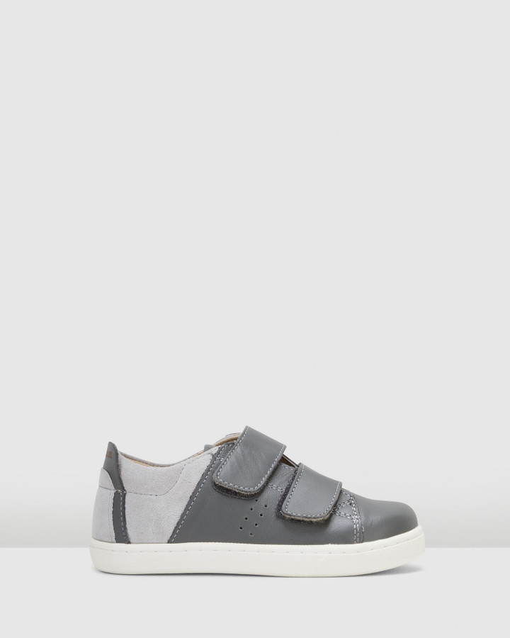 Shoes and Sox Toko Shoe Grey/Grey Suede
