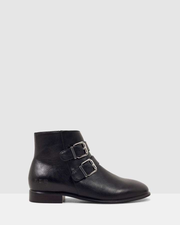 Shoes and Sox Status Boot Black
