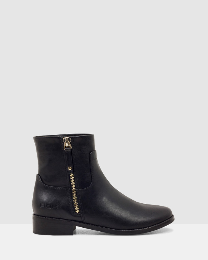 Shoes and Sox Zodiac Boot Black