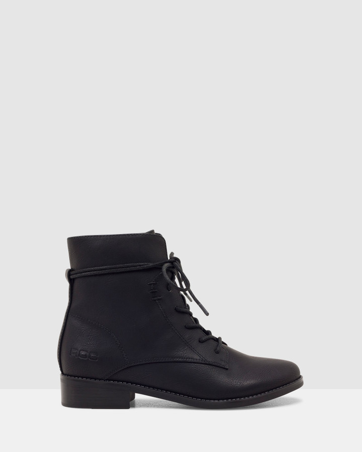 Shoes and Sox Zania Boot Black