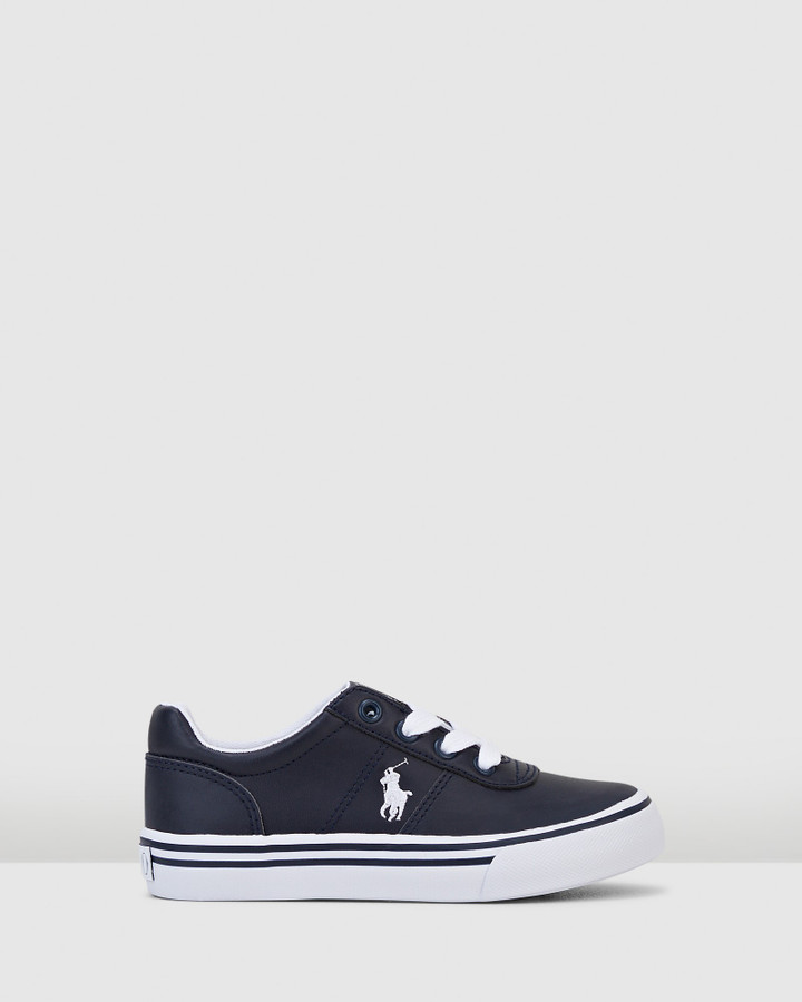 Shoes and Sox Hanford Iii Yth B Navy/White