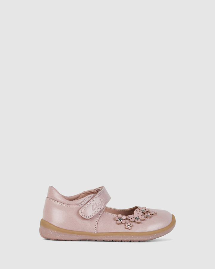 Shoes and Sox Meadow Dusty Pink
