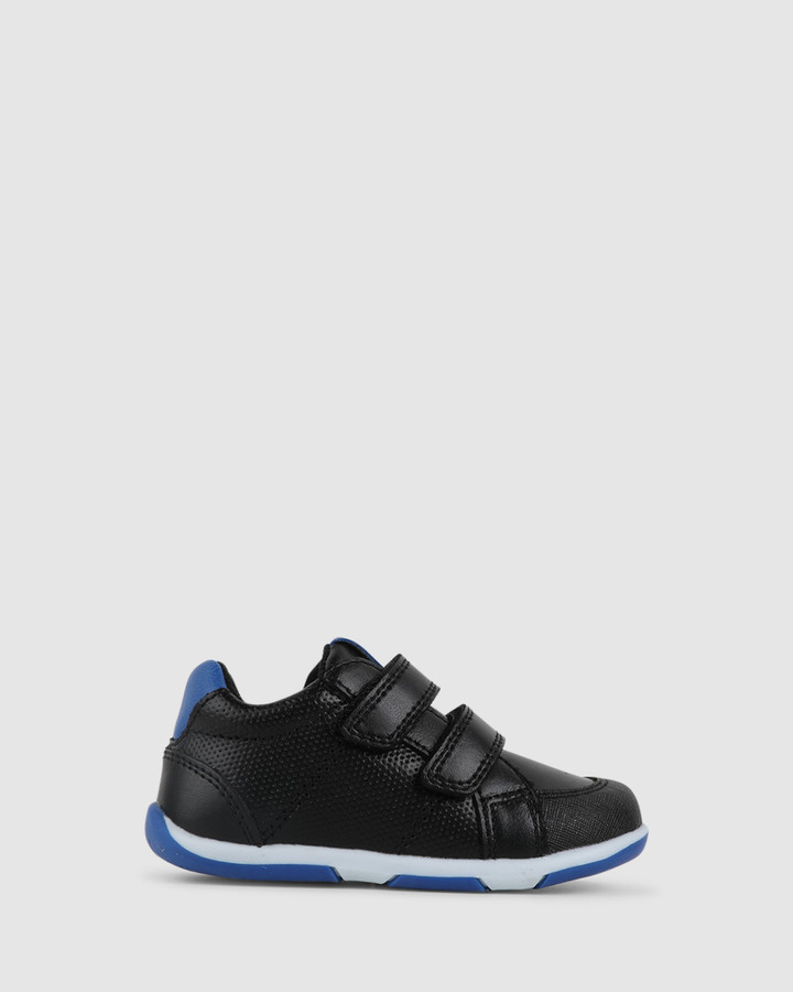 Shoes and Sox Bounce B Black/Blue