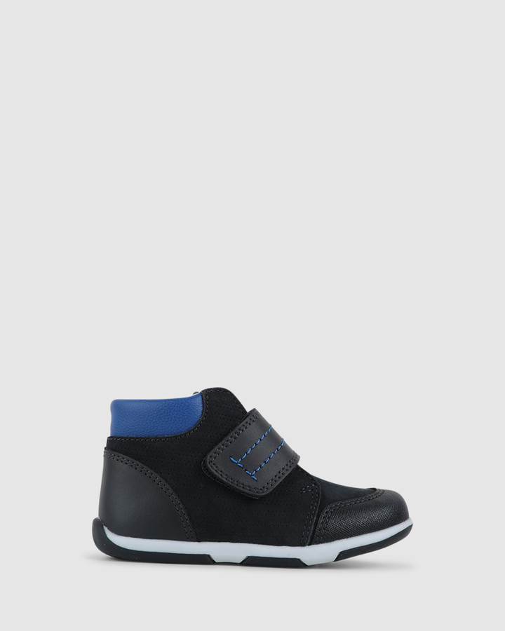 Shoes and Sox Boppy Boot B Navy/Cobalt