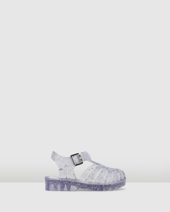 Shoes and Sox Possession Bb Clear Glitter